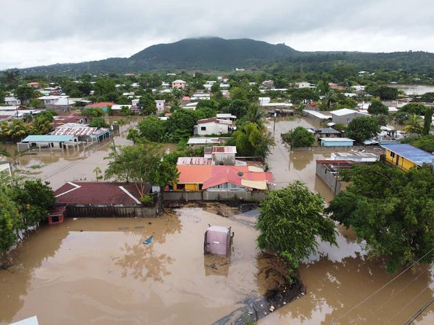 Flooded Community in Honduras
