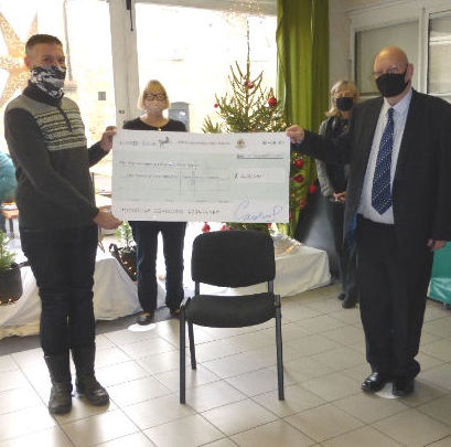 Ely and Cambridgeshire Masons Donate £2,587 to The Ely Community Christmas Meal Appeal