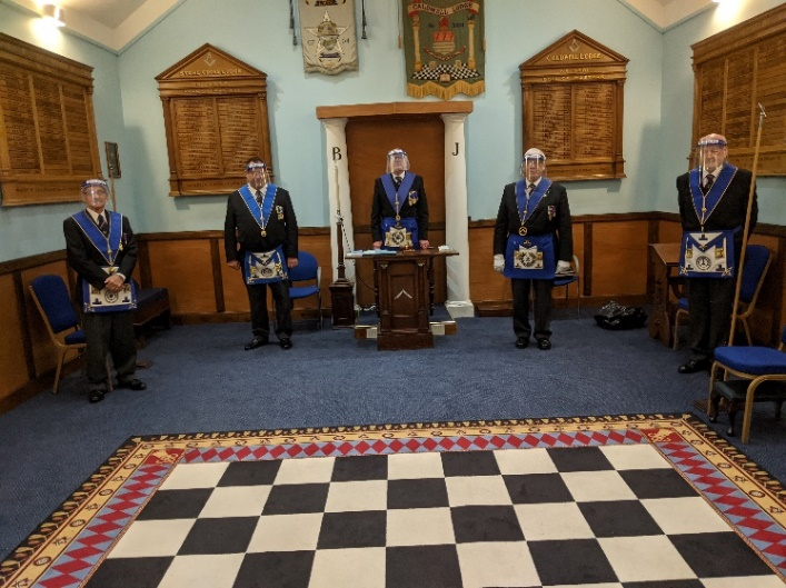 Installed Masters Lodge meeting
